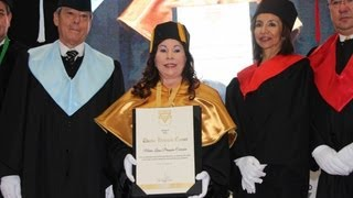 Doctorado Honoris Causa, María Luisa Piraquive, YMCA