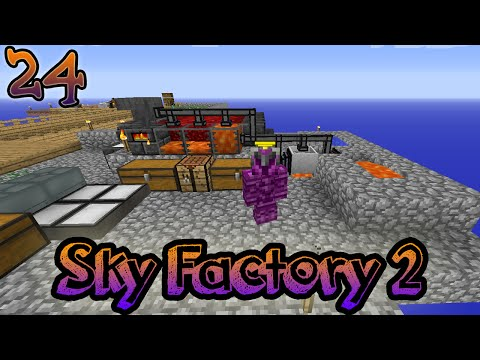 Minecraft: Sky Factory S1 Ep. 24 | I Believe I Can Fly (ZIVICIO HYPE)
