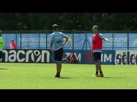 #Auronzo2017 | Il primo allenamento di Lucas Leiva