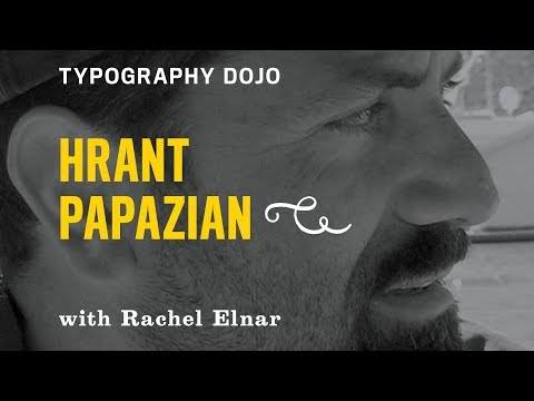Typography Dojo: Foreign Fling Fonts with Hrant Papazian