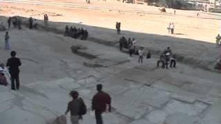 エジプトの旅 3  「クフ王のピラミッド」