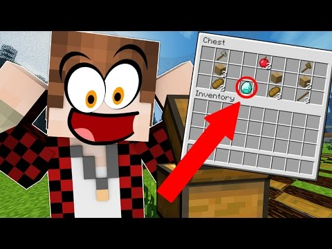 MINECRAFT WHERE ARE THE DIAMONDS!? Hunger Games Fun with Mitch!