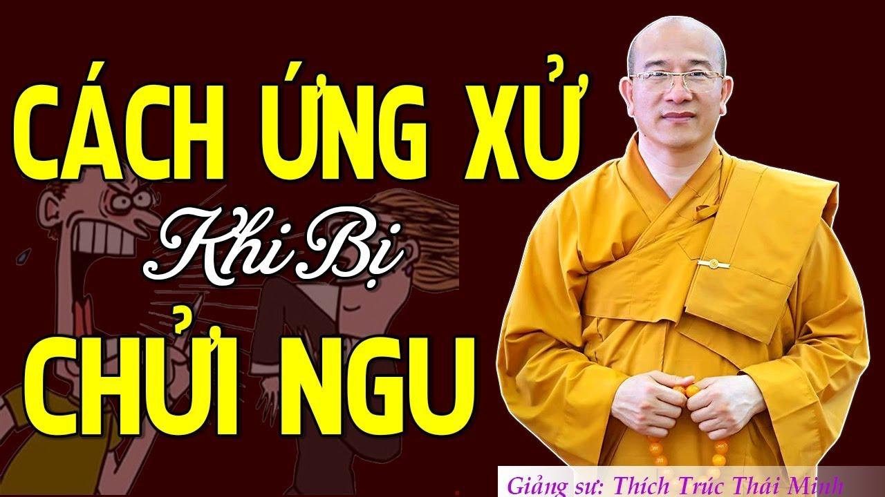Bị Chửi Ngu – Xỉ Nhục Người Thân và cách ứng xử khi bị chửi   Thầy Thích Trúc Thái Minh