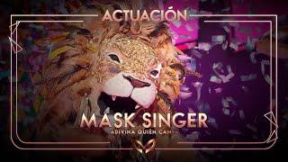 El León canta 'Si por mi fuera' de Beret | Mask Singer: Adivina quién canta