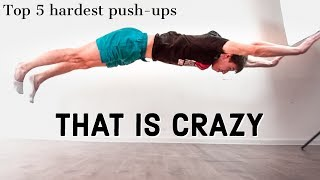CRAZY EXTREME PUSH-UPS. Top 5 to show spectacular power!