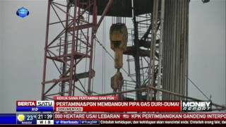 Pertamina Dan Pgn Bangun Pipa Gas Duri-Dumai