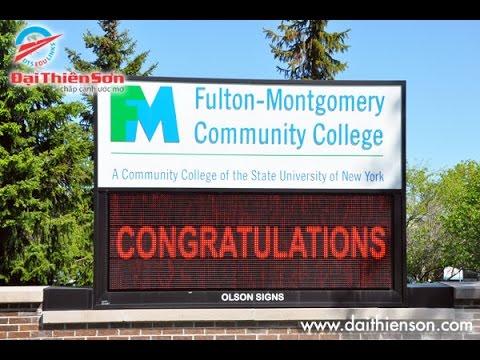Fulton Montgomery Community College - Du h?c ??i Thiên S?n