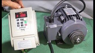 VFD Inverter Drive & New 3 Phase Motor For My Myford ML7 Lathe