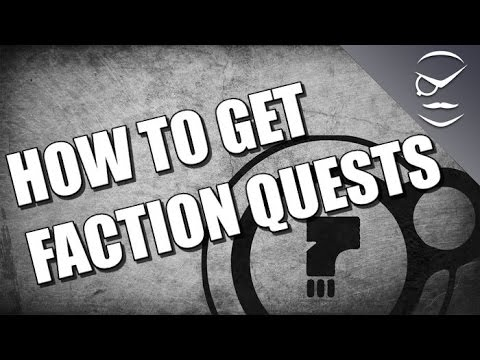 Destiny how to get faction quests youtube