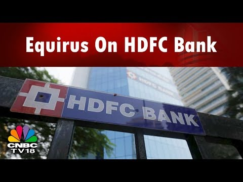 Equirus On HDFC Bank | Bazaar Morning Call (Part 1) | CNBC TV18