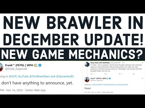 *NEW BRAWLER* WHAT IS COMING IN DECEMBER UPDATE - EARLY ASSUMPTIONS - BRAWL STARS LEAKS - NEWS