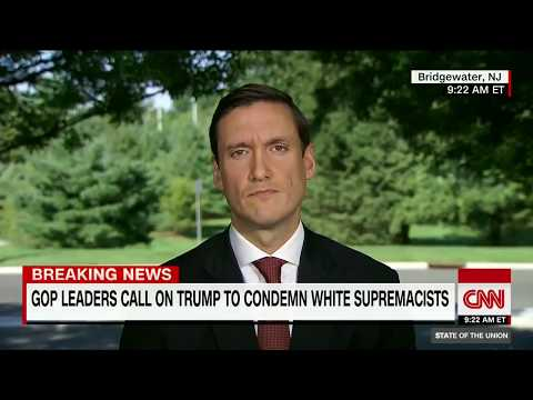 Trump adviser pressed to condemn white nationalist groups