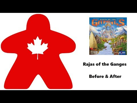 Rajas of the Ganges - Before & After