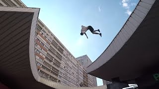 ROOFTOP FAIL - Parkour in Paris 🇫🇷