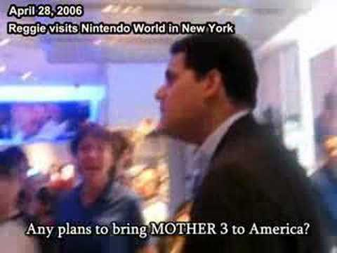Reggie gets asked about MOTHER 3