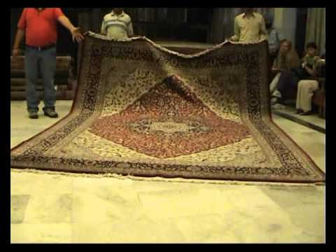 India - Carpet Factory - YouTube
