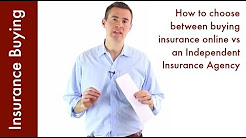 Buying Insurance Online vs Independent Agent (How to choose)