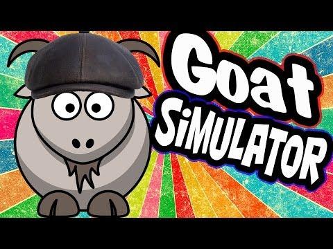 Неудержимый Козел! Смешные Моменты! (goat simulator)