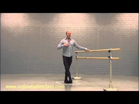 Ballet Lesson - Ballet Technique / adagio
