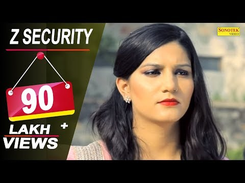 Sapna Choudhary - Z Security || Vicky Kajla, A K Jatti || Latest Haryanvi Songs Haryanavi 2018