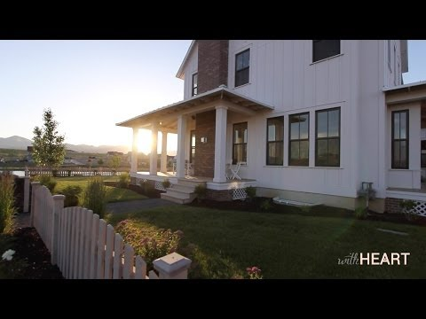 Building a Home: Floor plan & Exterior | withHEART