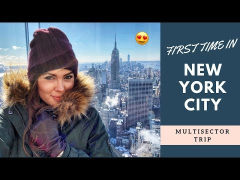 FIRST TIME IN NYC! | Emirates Cabin Crew
