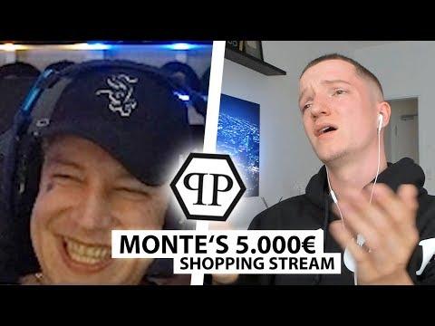 Justin reagiert auf Montes 5000€ Shopping Stream.. | Reaktion