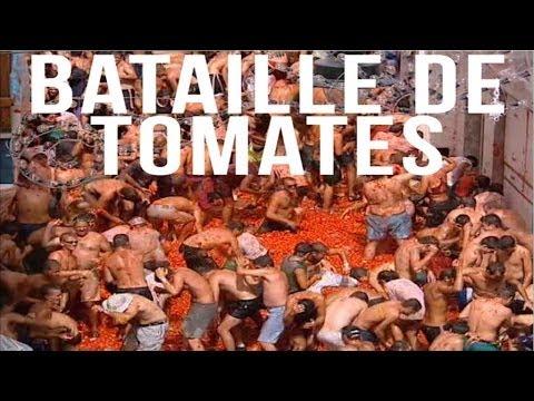 Bataille de tomates: La Tomatina (Exccentriiiks)