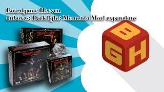 BGH unboxing 41: Darklight: Memento Mori expansions