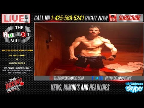 Canelo Alvarez vs. Julio Cesar Chavez Jr., Chavez Weighs 172lbs Shocks the World