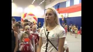 Яна Кудрявцева-тринадцатикратная чемпионка мира по художественной гимнастике