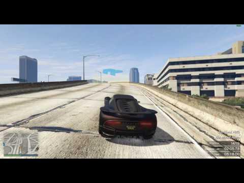 GTA V Online Race #307 Skyline Raceway