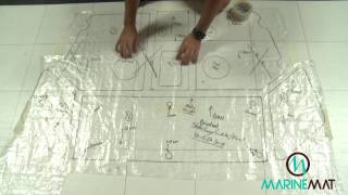 Marine Mat How to Template for decking