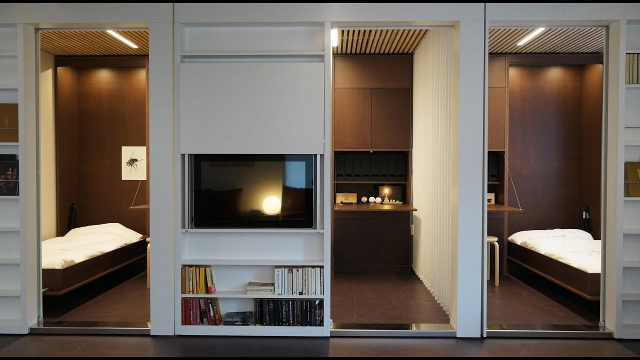 Reconfigurable Apartment Allows Residents To Transform Their Living Es