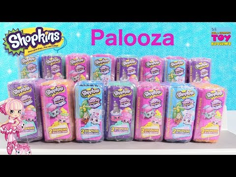 Shopkins 2 Pack Palooza Season 8 Limited Edition Hunt Toy Review | PSToyReviews