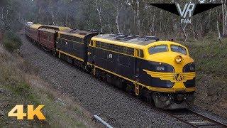 Streamliners on the Royal Train: 4K Australian Trains