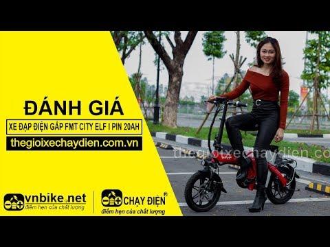 Đánh giá xe đạp điện gấp FMT CITY ELF I PIN 20AH (TDT1701Z20A)