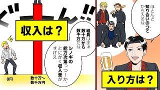 【漫画】ヤクザ(暴力団)になるとどうなるのか?【マンガ動画】
