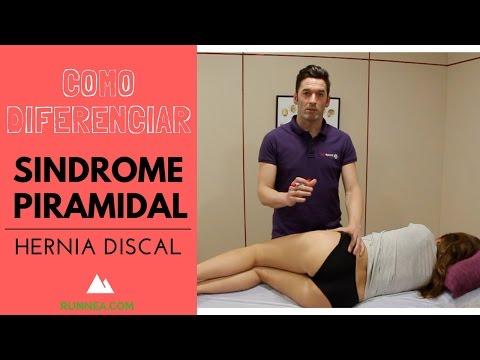 Cómo diferenciar el síndrome del piramidal de una hernia discal o ciática?