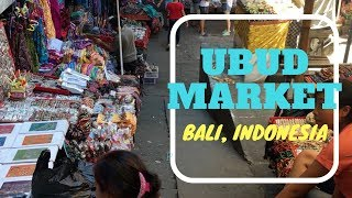 We visited the Ubud Market that is located near the central area of...
