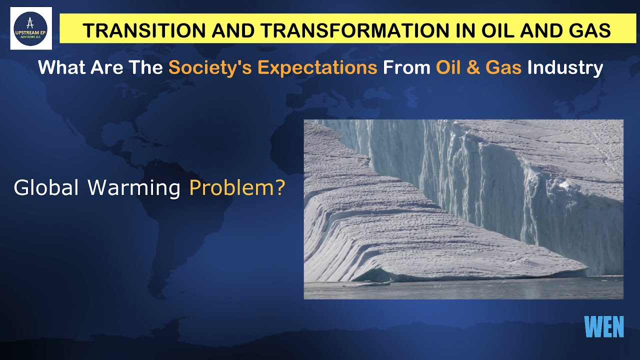 Transition & Transformation in Oil & Gas: A, 3-Minute Teachable Point of View