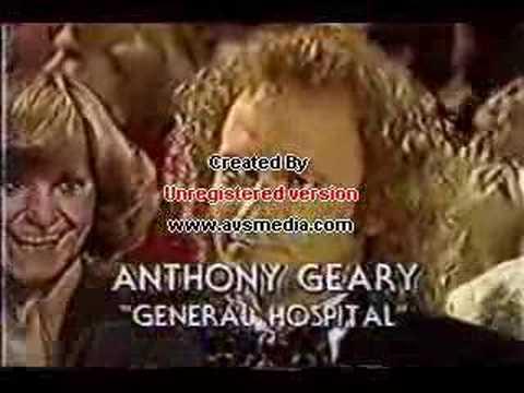 Tony Geary 1982 Emmy Win