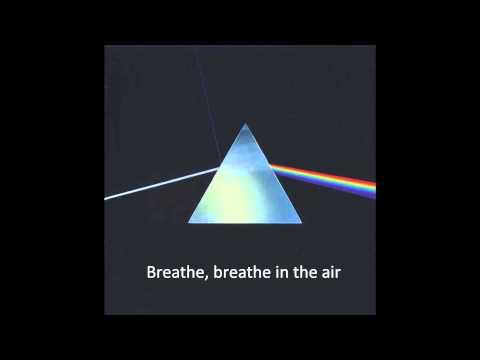 Pink Floyd - Breathe (with lyrics)