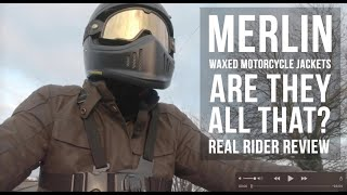 Merlin Motorcycle Jackets- Are they all that?