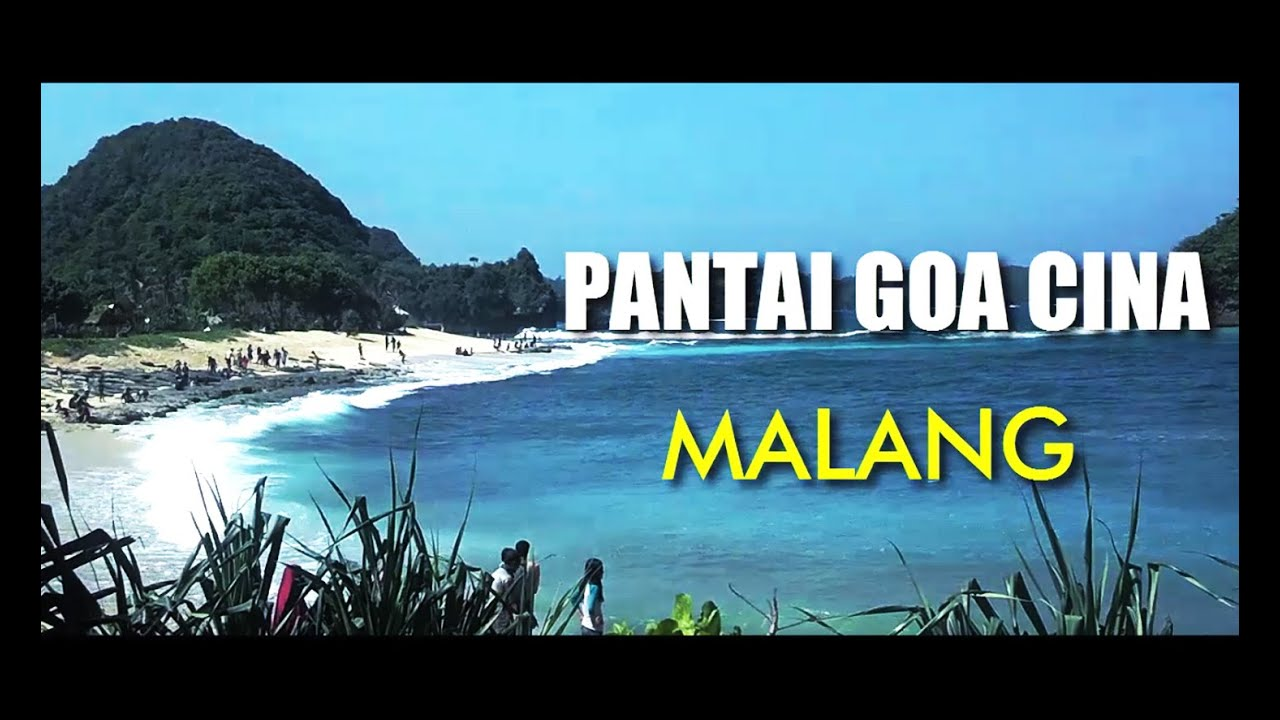 Pantai Goa China Malang Selatan