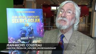 Cousteau talks about Secret Ocean 3D