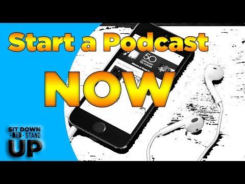 How to start podcasting RIGHT NOW