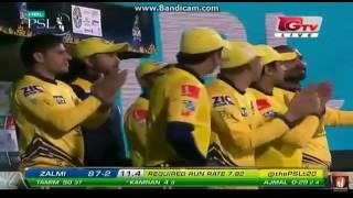 Tamim Iqbal 80 off 58 balls in PSL Peshawar Zalmi VS Islamabad