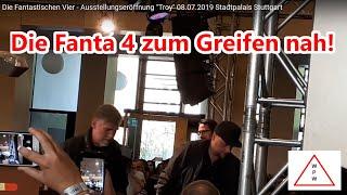 """Die Fantastischen Vier - Ausstellungseröffnung """"Troy"""" 08.07.2019 Stadtpalais Stuttgart"""