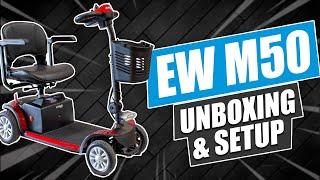 EW M50 Unboxing & Setup Video